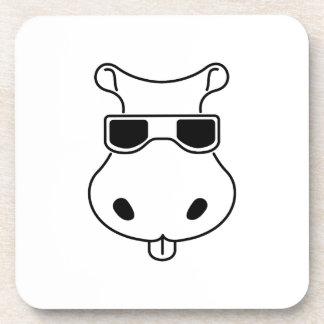 Hippopotamus Sunglasses Love Hippos Fiona Baby Coaster