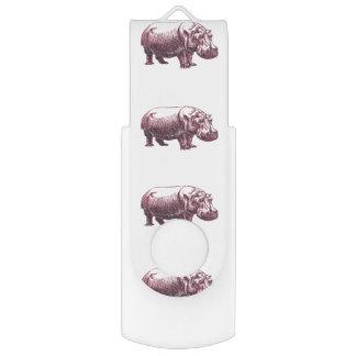 Hippopotamus USB Flash Drive