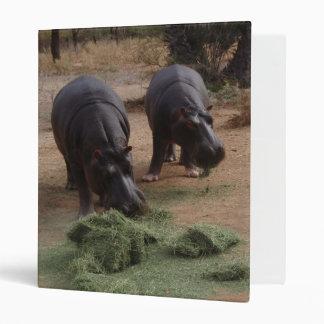 Hippos 3 Ring Binders