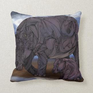 Hippos American MoJo Pillows