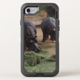 hippos OtterBox defender iPhone 7 case
