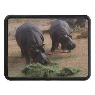 hippos trailer hitch cover