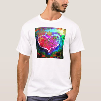 Hippy at Heart Rainbow Tie Dye gift collection T-Shirt