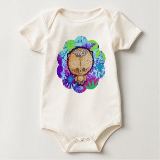 Hippy Bear Baby Bodysuit