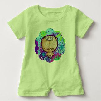 Hippy Bear Baby Romper