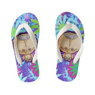 Hippy Bear Kid's Flip Flops