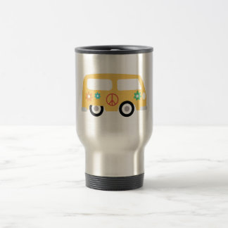 Hippy Bus Travel Mug