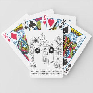 Hippy Cartoon 7597 Poker Deck