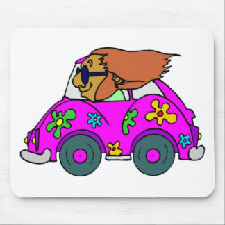 Hippy Days Fun Mousepad