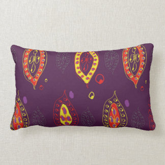 Hippy Fiesta Lumbar Pillow