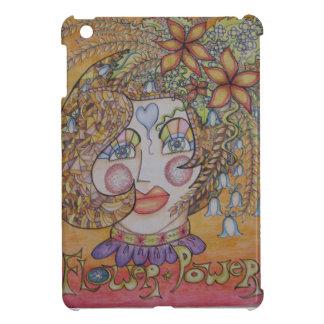 Hippy Flower Girl iPad Cover