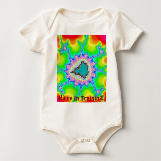Hippy In Training Baby Bodysuit