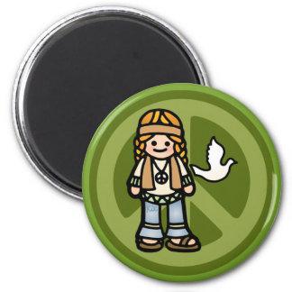 hippy magnetism. magnet