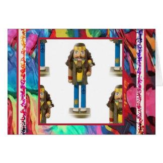 Hippy Nutcracker Note Card