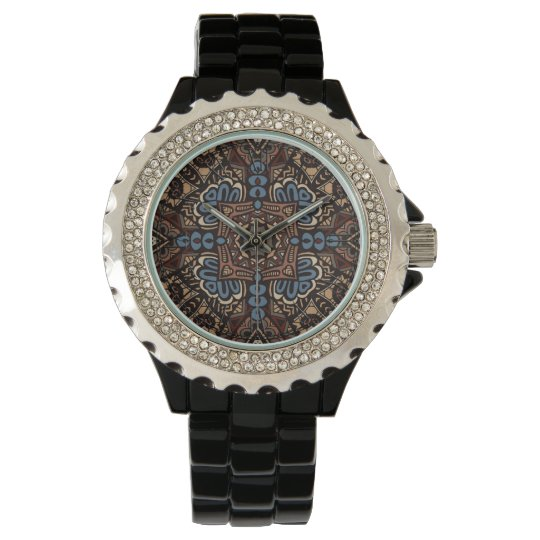 Hippy Peace Retro Colourful Boho Chic Watch