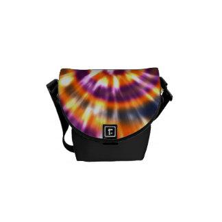 Hippy Peace Retro Tie Dye Colorful Boho Commuter Bag
