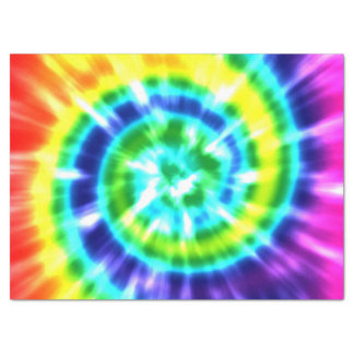 Hippy Peace Retro Tie Dye Colorful Boho Tissue Paper
