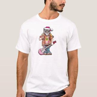 """Hippy Santa says """"Cool Yule"""" T-Shirt"""