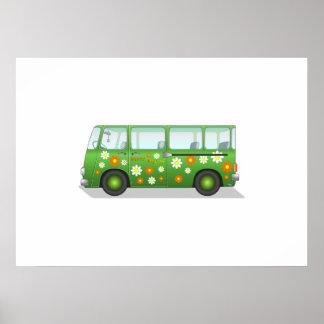 Hippy Van Print
