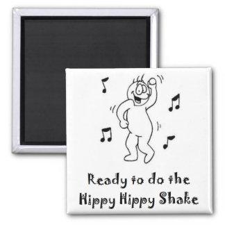 HippyShake Square Magnet