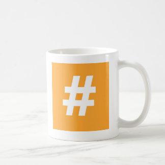 Hipstar Hashtag Mug