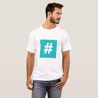 Hipstar Hashtag T-shirt (Blue, Mens)