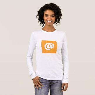 Hipstar @ Orange Long-Sleeve T-Shirt