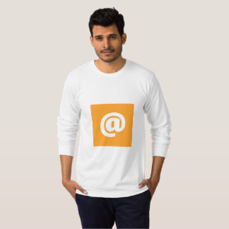 Hipstar @ Orange Long-Sleeve T-Shirt