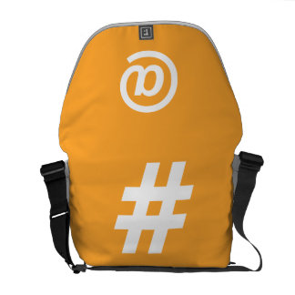 Hipstar Orange Messenger Bag