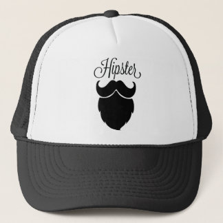 Hipster Beard Trucker Hat