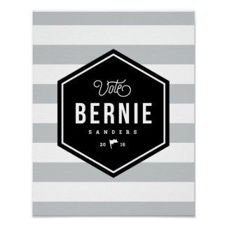 Hipster Bernie Poster