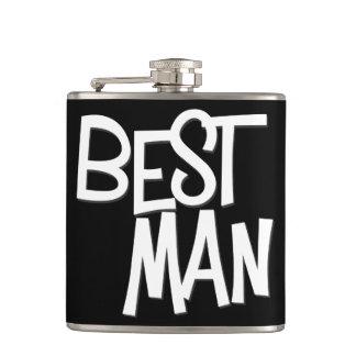 Hipster Best Man Flask