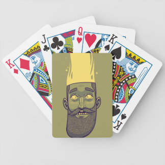 Hipster Bicycle Playing Cards