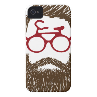 Hipster biker iPhone 4 covers