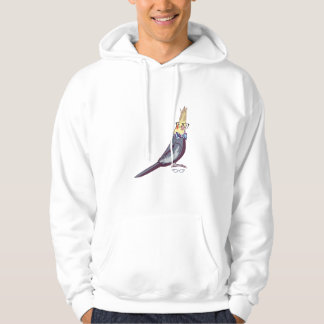 Hipster Bird Hoodie (without text)