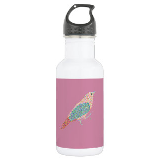 Hipster Birds 532 Ml Water Bottle