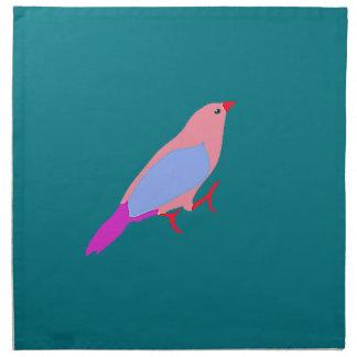 Hipster Birds Napkin