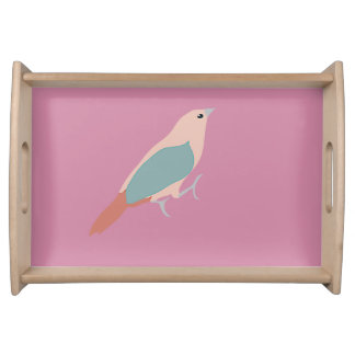 Hipster Birds Serving Tray