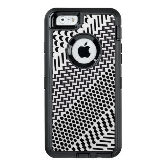 Hipster Black and White Geometric Pattern OtterBox iPhone 6/6s Case