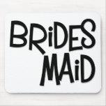 Hipster Bridesmaid Mousepad