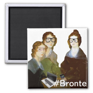Hipster Bronte Sisters Magnet