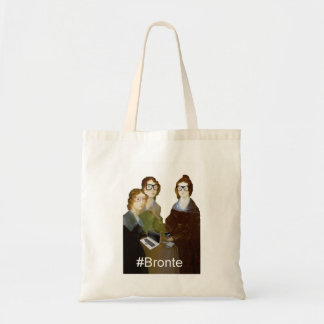 Hipster Bronte Sisters Tote Bag