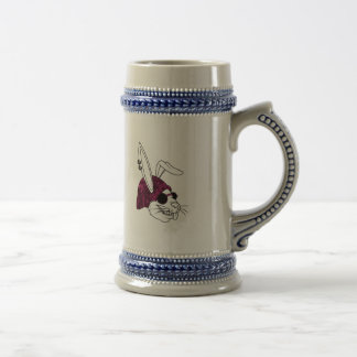 Hipster Bunny Beer Stein