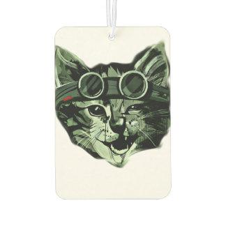 Hipster Cat Car Air Freshener