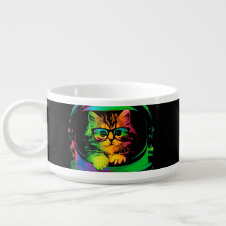 Hipster cat - Cat astronaut - space cat Bowl