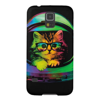 Hipster cat - Cat astronaut - space cat Galaxy S5 Case