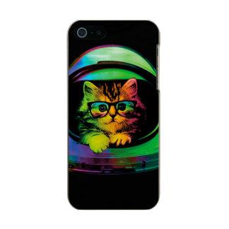 Hipster cat - Cat astronaut - space cat Incipio Feather® Shine iPhone 5 Case