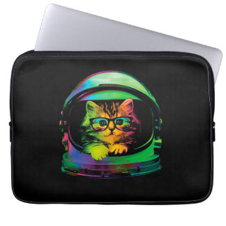 Hipster cat - Cat astronaut - space cat Laptop Sleeve