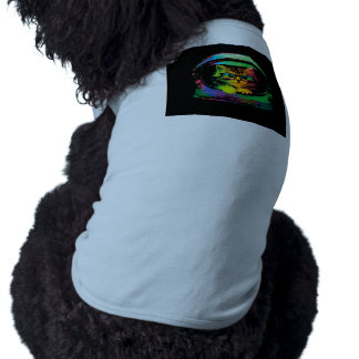 Hipster cat - Cat astronaut - space cat Pet T-shirt