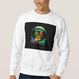 Hipster cat - Cat astronaut - space cat Sweatshirt